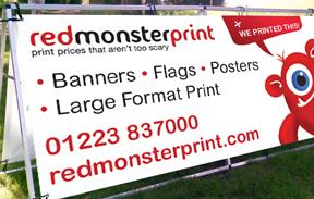 Red Monster Print